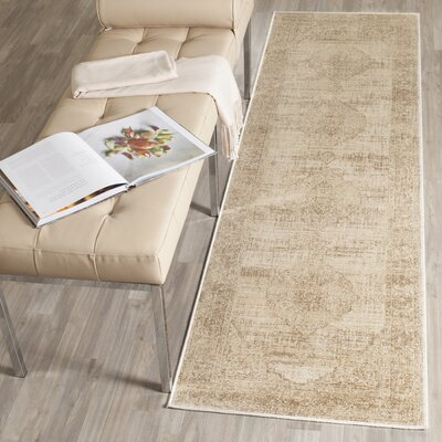 Cortes Creme Area Rug Rug Size: Rectangle 33 x 57
