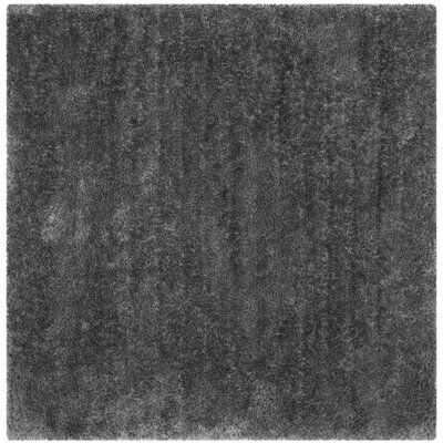Jayne Hand Tufted Gray Area Rug Rug Size: Square 6