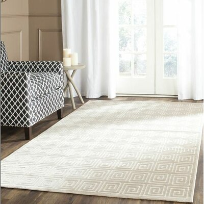 Constance Cream Area Rug Rug Size: Rectangle 3 x 5