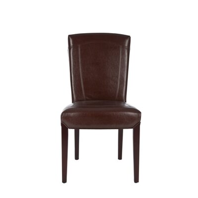 Ken Bi-Cast Leather Side Chair