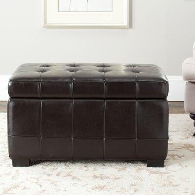 Strickland Ottoman Upholstery: Cordovan