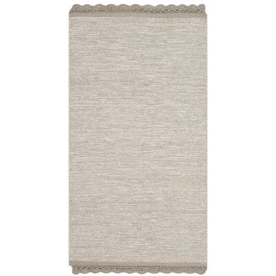 Mohnton Hand-Woven Beige Area Rug Rug Size: Rectangle 5 x 8
