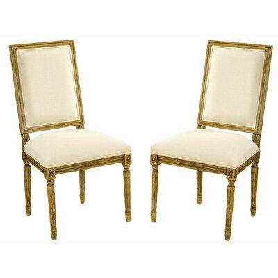 Low Price Safavieh Antiqued Fairfax Side Chair (Set of 2)