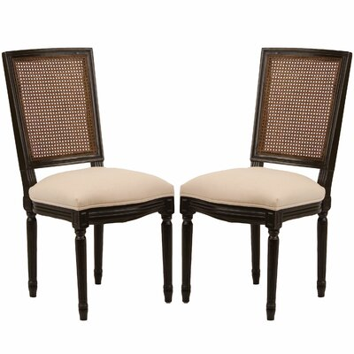 Orleans Side Chair in Creme (Set of 2)