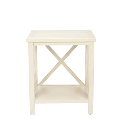 Credit for Candice End Table Finish: Distresse...