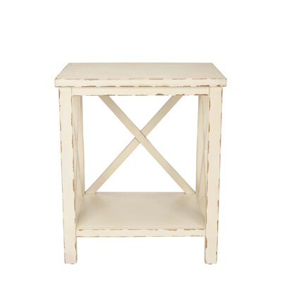 Financing for Candice End Table Finish: Distresse...
