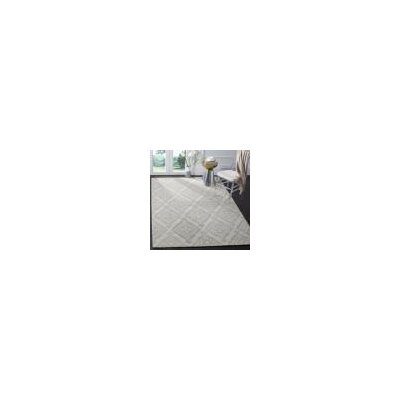 Micro-Loop 200 Hand-Tufted Light Gray Area Rug