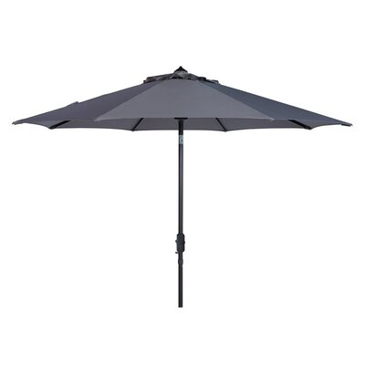 9 Market Umbrella Fabric: Gray