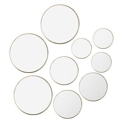 9 Piece Imogen Mirror Set