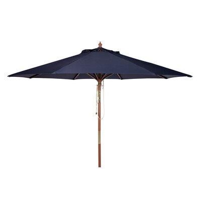 9' Cannes Wooden Outdoor Market Umbrella