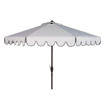 9' Venice Crank Outdoor Drape Umbrella