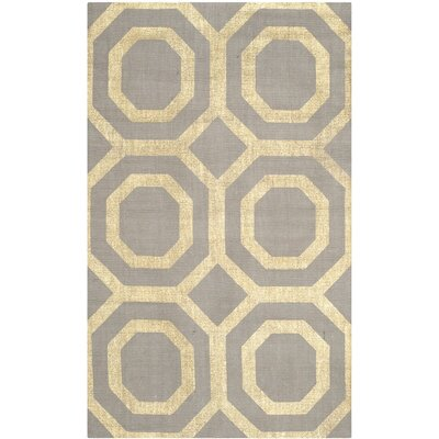 Cedar Brook Hand-Loomed Gray/Gold Area Rug