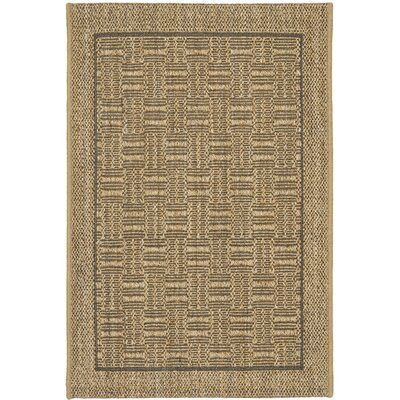 Palm Beach Natural Basketry Rug Rug Size: 3 x 5