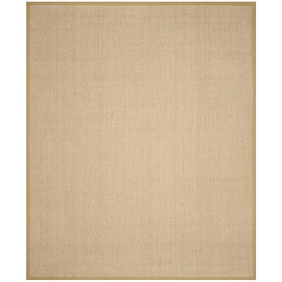 Freels Natural/Beige Area Rug Rug Size: Rectangle 8 x 10