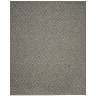 Freitag Light Gray Area Rug Rug Size: Rectangle 8 x 10