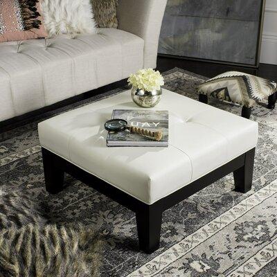 Hamilton Ottoman Upholstery: White
