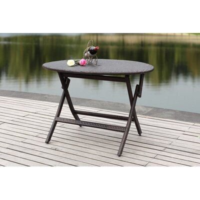 Ellis Folding Picnic Table Finish: Grey