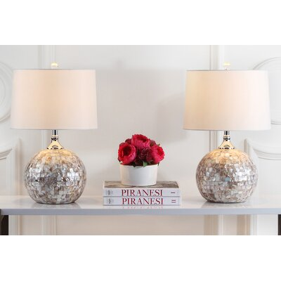 Nikki Shell 21.5 Table Lamp
