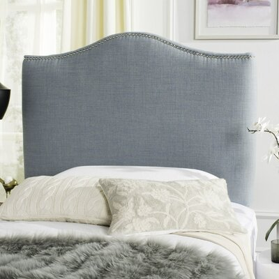 Jeneve Upholstered Panel Headboard Size: King, Upholstery: Off White