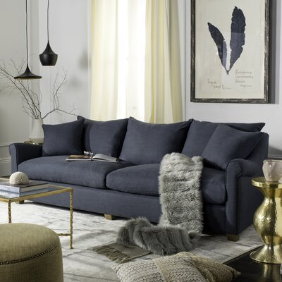 Couture Fraer Sofa Upholstery: Navy