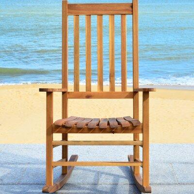 Shasta Rocking Chair Frame Finish: Teak Look