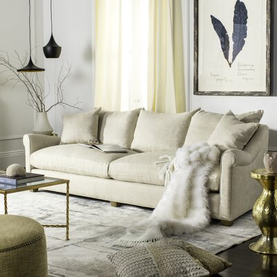 Couture Fraiser Sofa Upholstery: Natural