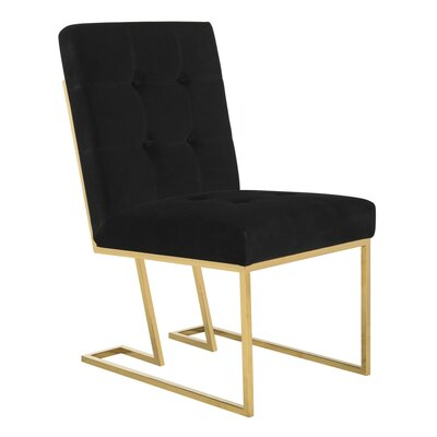 Samuel Velvet Side Chair