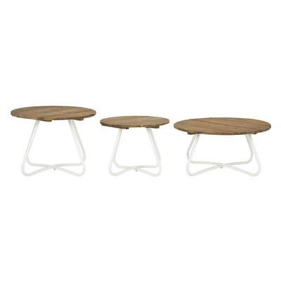 Smith 3 Piece Coffee Table Set