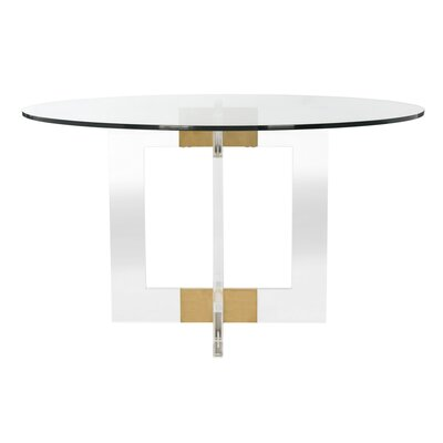 Gosta Round Glass Dining Table