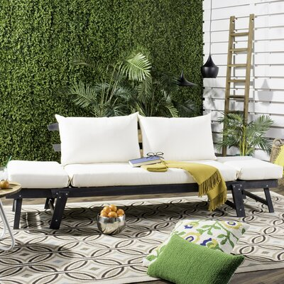 Gottberg Daybed with Cushion Finish: Gray