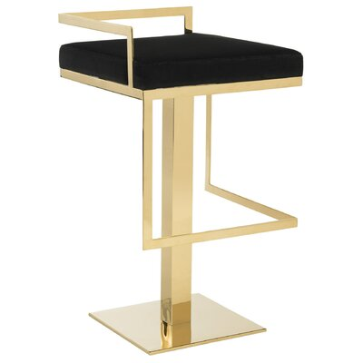 Sanjuana Velvet Bar Stool