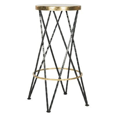 Amidon 30 Bar Stool Finish: Black