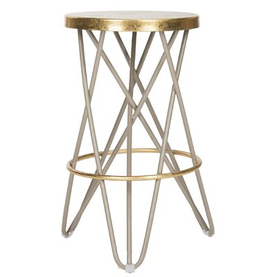 Buell 24 Bar Stool Finish: Beige