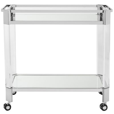 Safavieh Iago Mirror Bar Cart