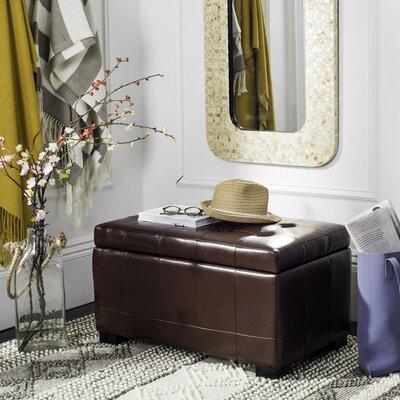 Ottoman Upholstery: Cordovan