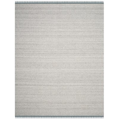 Sojourn Hand-Woven Gray/Blue Area Rug Rug Size: Rectangle 8 x 10