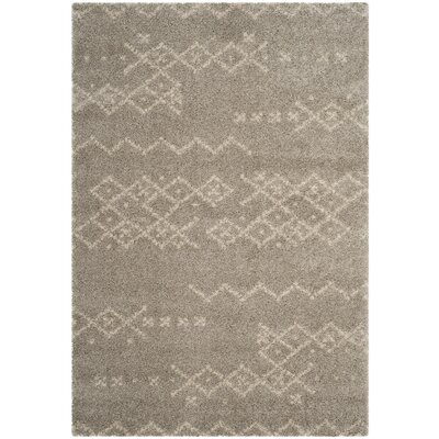 Amicus Brown Area Rug Rug Size: Rectangle 4 x 6