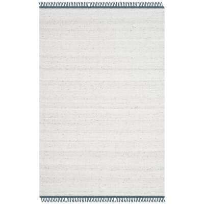 Sojourn Hand-Woven Gray/Blue Area Rug Rug Size: Rectangle 4 x 6