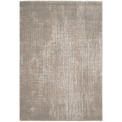 Edvin Brown Area Rug Rug Size: Rectangle 53 x 76