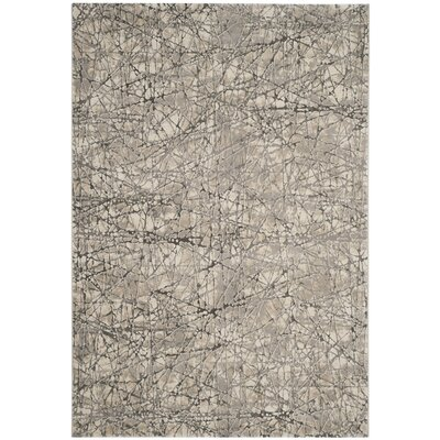 Edvin Brown Area Rug Rug Size: 53 x 76