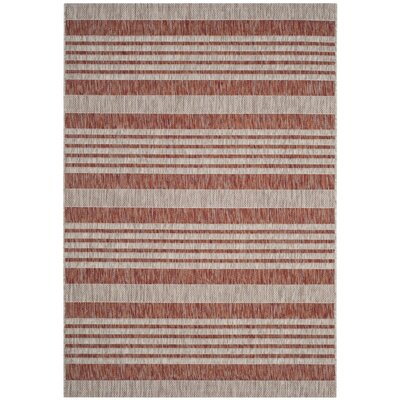 Covington Red/Beige Area Rug