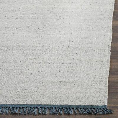Kilim Hand-Woven Ivory/Gray Area Rug