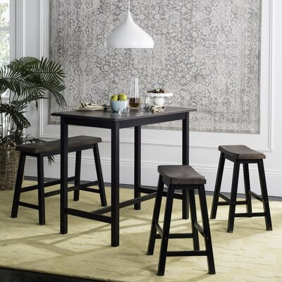 Chelsey 4 Piece Bistro Table Set Finish: Espresso