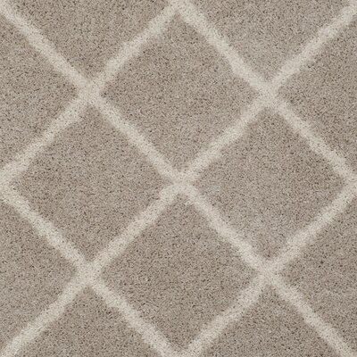 Helsel Light Gray Area Rug Rug Size: Rectangle 9 x 12
