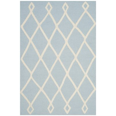 Claro Moroccan Hand-Tufted Mint Area Rug Rug Size: 3 x 5