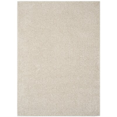 Helsel Ivory Area Rug Rug Size: Rectangle 4' x 6'