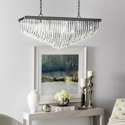 Gentry 10-Light Waterfall Chandelier
