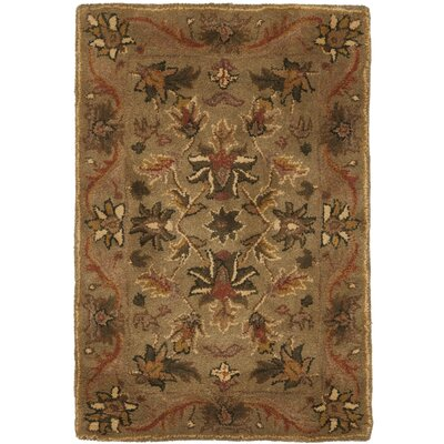 Safavieh Antiquities Majesty Sage/Gold Area Rug - Rug Size: Square 6'
