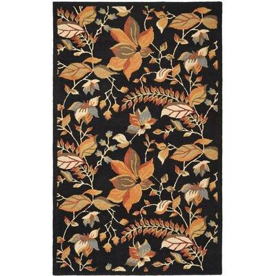 "Safavieh Blossom Black/Multi Area Rug - Rug Size: 2'3"" x 11' at Sears.com"