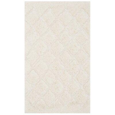 Felten Cream Area Rug Rug Size: 51 x 76